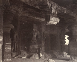 Interior view, Elephanta, Bombay 394110